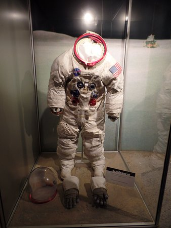 Neil Armstrongs' backup Apollo 11 suit.