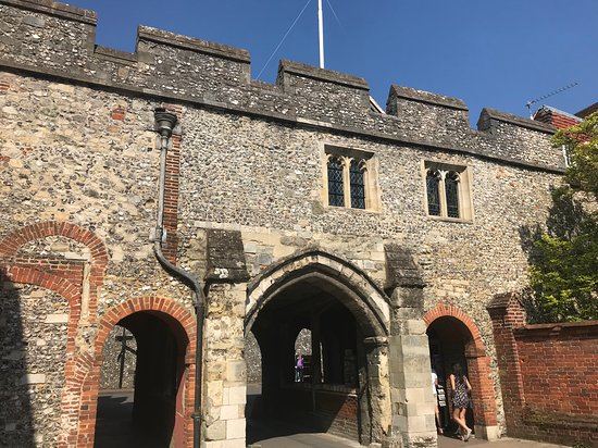 Winchester, UK: A place close to the cathedral