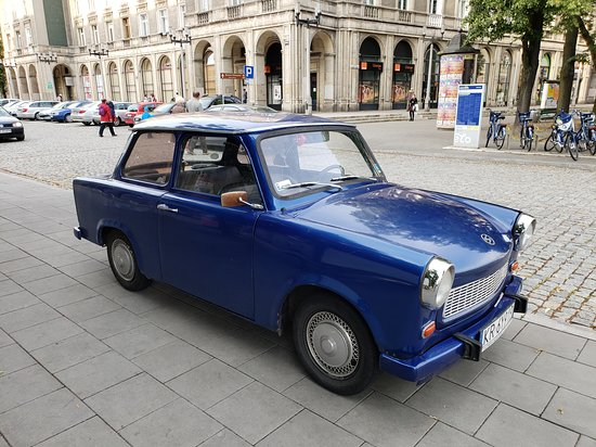 Communism Tour in a Genuine Trabant Automobile from Krakow: our car for the tour