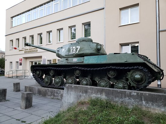 Communism Tour in a Genuine Trabant Automobile from Krakow: tank from World War II