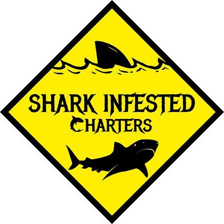 Shark Infested Charters: Logo
