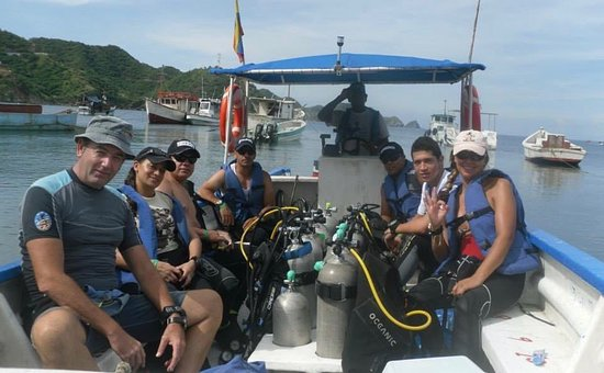 Aquarius Diving Club: www.aquariusdivingclub.com Medellín - Santa Marta
