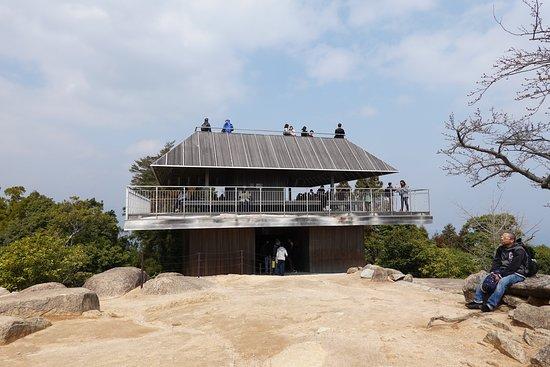 弥山展望台