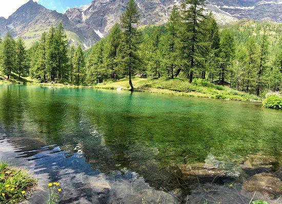 Cervinia 2: Posto stupendo al lago bleu