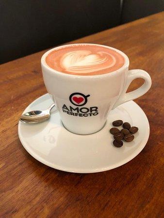Me encantoooo el café