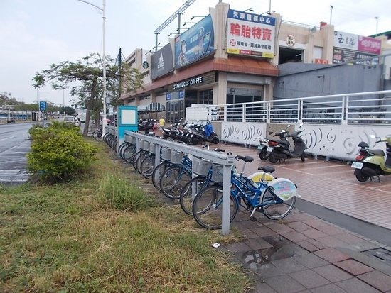 ‪Kaohsiung Public Bike - Carrefour Love River‬