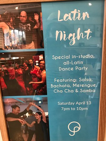 QuickSteps Dance Club Studio: Latin night advertised