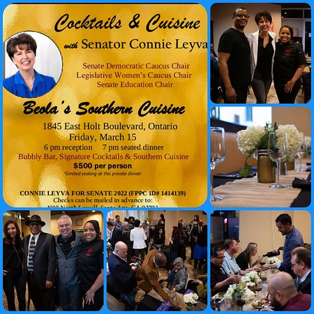 ‪‪Beola's Southern Cuisine‬: Do you need a place to meet clients? Call Beola's and we can help you to put together a reception for 20 - 38 guests (909) 390-3663‬