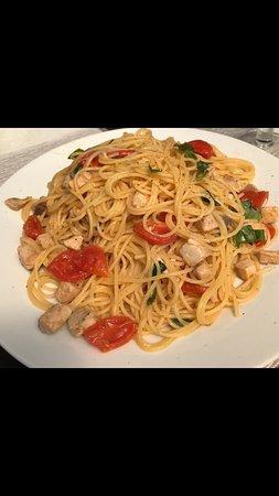Spaghetti alla triglia livornese