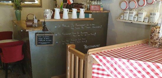 Restaurant Chez Grand Mere: l'entrée