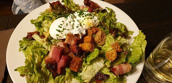 Restaurant Chez Grand Mere: salade