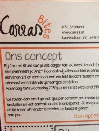 Carras Bites: concept
