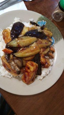 Tofu Aubergine Rice