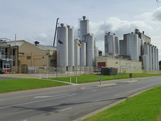 cheese factory across the road