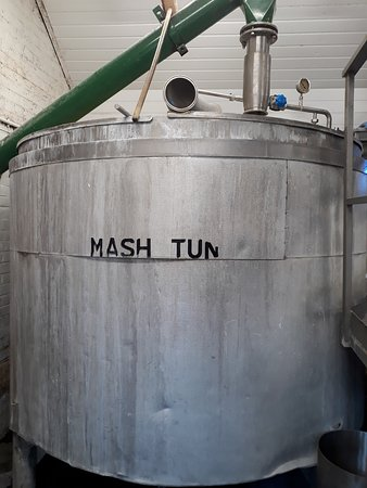 St. Peter's Brewery: Mash tun - where the wort is extracted