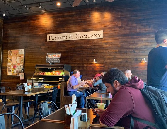 Paninis & Company: Paninis and Company located in the Midtowne Mall. Great sandwich shop.