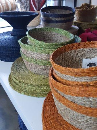 Ukuthula Arts & Craft Shop: Bread baskets