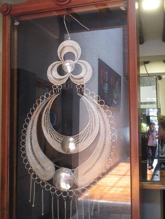 Chordeleg, Ecuador: World's largest earring.