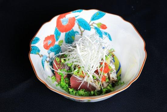 Daitokuzi Sushicho: 鰹土佐造り