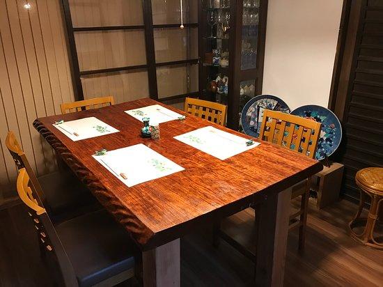 Daitokuzi Sushicho: テーブル席