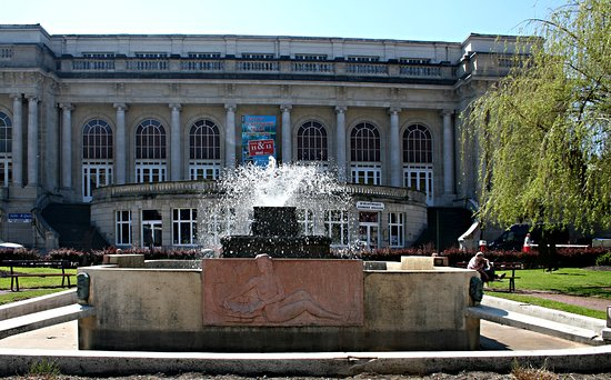 La Fontaine des jardins du Casino de Spa