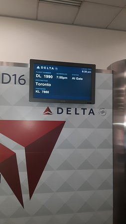 Delta Air Lines: on time