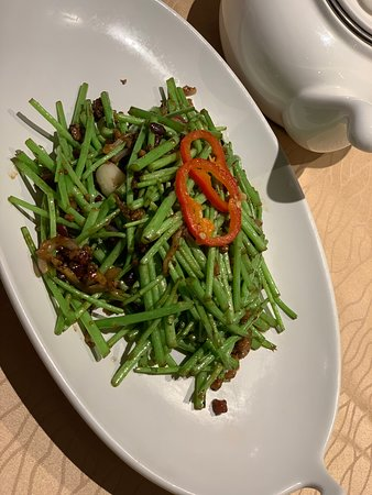 Bingsheng Pinwei Restaurant (Tianhe): Stir fried vegetables