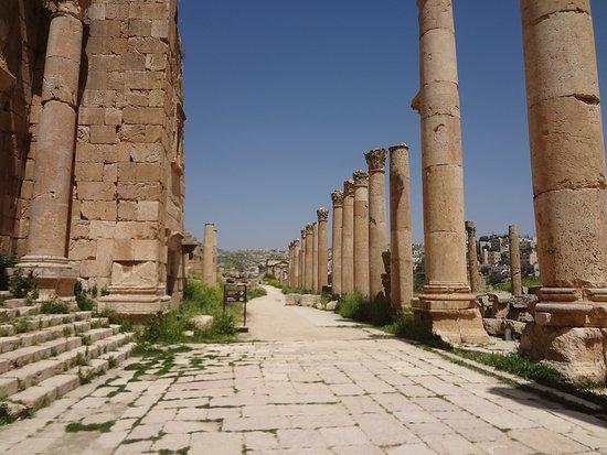 Ruins at Jerash