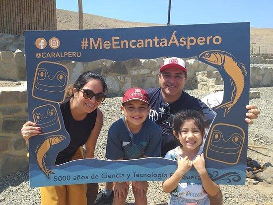 Gracias por su visita al sitio Arqueológico de Áspero, - Puerto Supe . vuelvan  pronto.