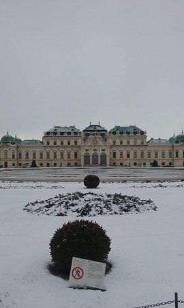 Vienna, Áo: Belverdere palace .