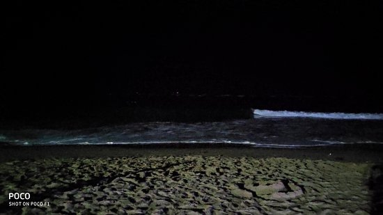 The Calangute Beach!
