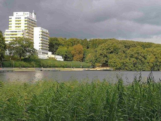 """In Bad Segeberg gibt es zweifelsohne sehr viel zu erkunden. Wir hatten uns aber an diesem Tag vorgenommen, den """"großen Segeberger See"""" zu umwandern. Wir waren überrascht, was man bei einem Tagesausflug bei einer Seeumrundung alles entdecken kann. Auf meinem norddeutschen Reiseblog https://www.nordicmoments.de erfährst Du mehr / #badsegeberg #großersegebergersee #schleswigholstein #norddeutschland"""