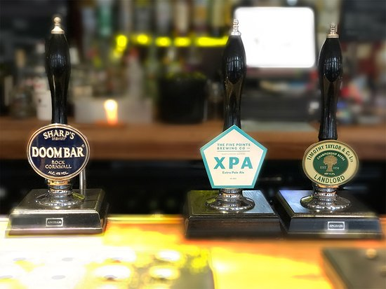 Cask ales, craft keg, IPA, ciders, lagers all available on tap and by the bottle