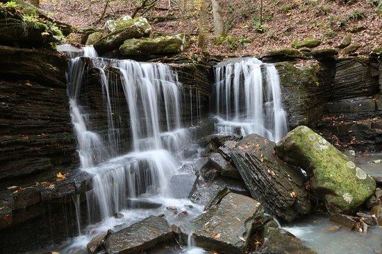 Dover, AR: lower Long Pool Falls