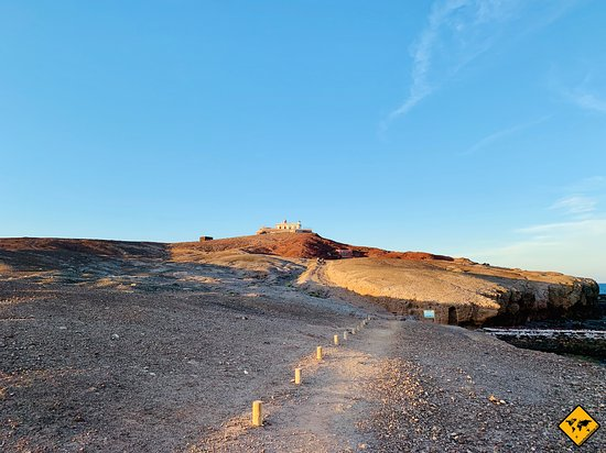 Arinaga, Hiszpania: Der Leuchtturm von weitem