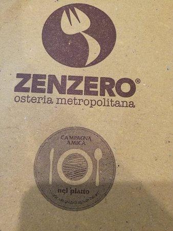 Zenzero Osteria Metropolitana: Zenzero Osteria Metropolitana