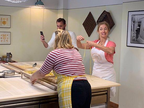 Grano & Farina - Cooking School: Katy explores pasta making with Julia