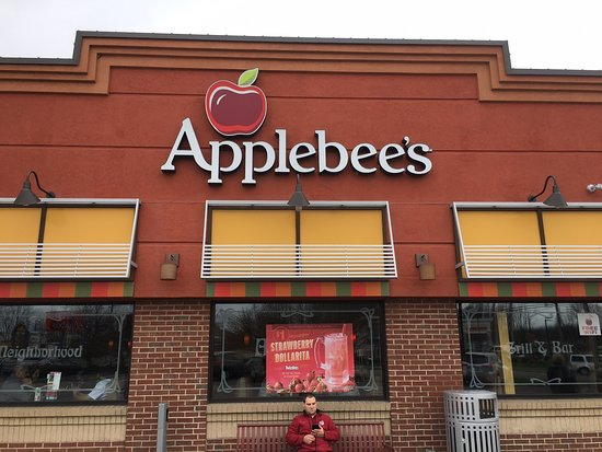 Applebee's : Our first stop at Applebee's
