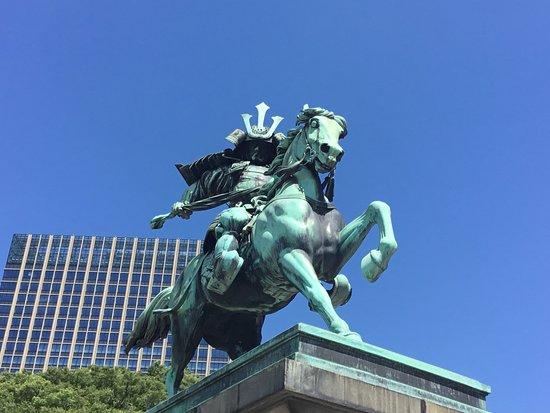 Kusunoki Masashige Statue