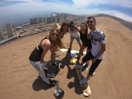 Sandboarden Iquique