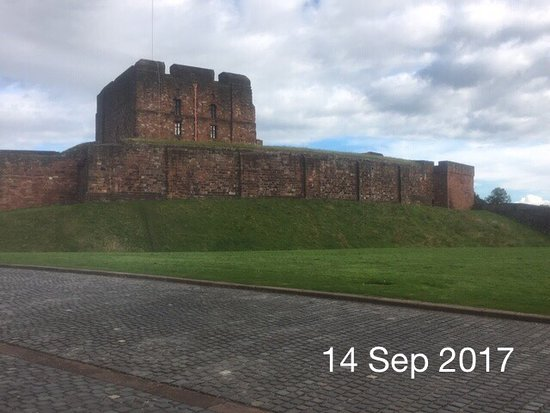 Carlisle castle and church