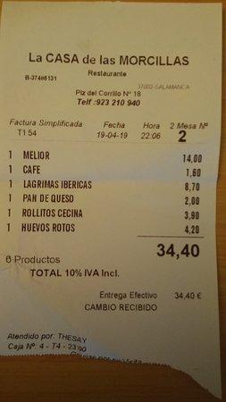 Lo más caro el vino, pero a precio normal para un buen Ribera.