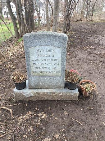 Palmyra, État de New York: Alvin Smith Gravesite