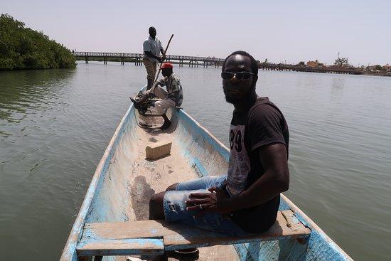 Somone, Senegal: plavba po zátoce