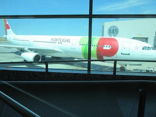 TAP Air Portugal: Our plane Lisbon to Newark