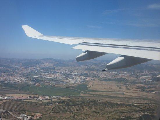 TAP Air Portugal: Departing Lisbon