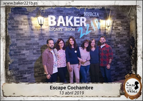 Baker 221b Escape Room