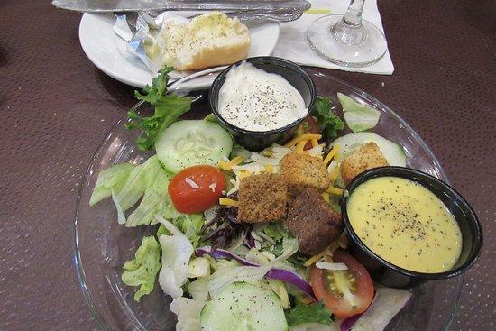 Fresh, crisp salad