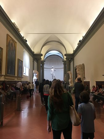 Pics from inside Galleria dell'Accademia