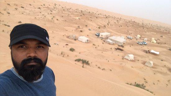 Durante a noite Tunísia Sahara Desert Safari por 4x4 de Douz fotografia